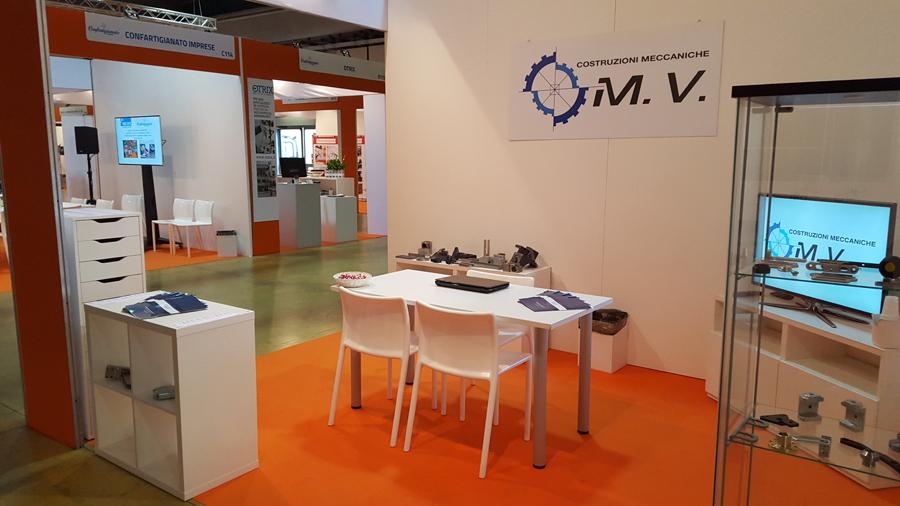 M.V. Costruzioni Meccaniche al MECSPE 2017